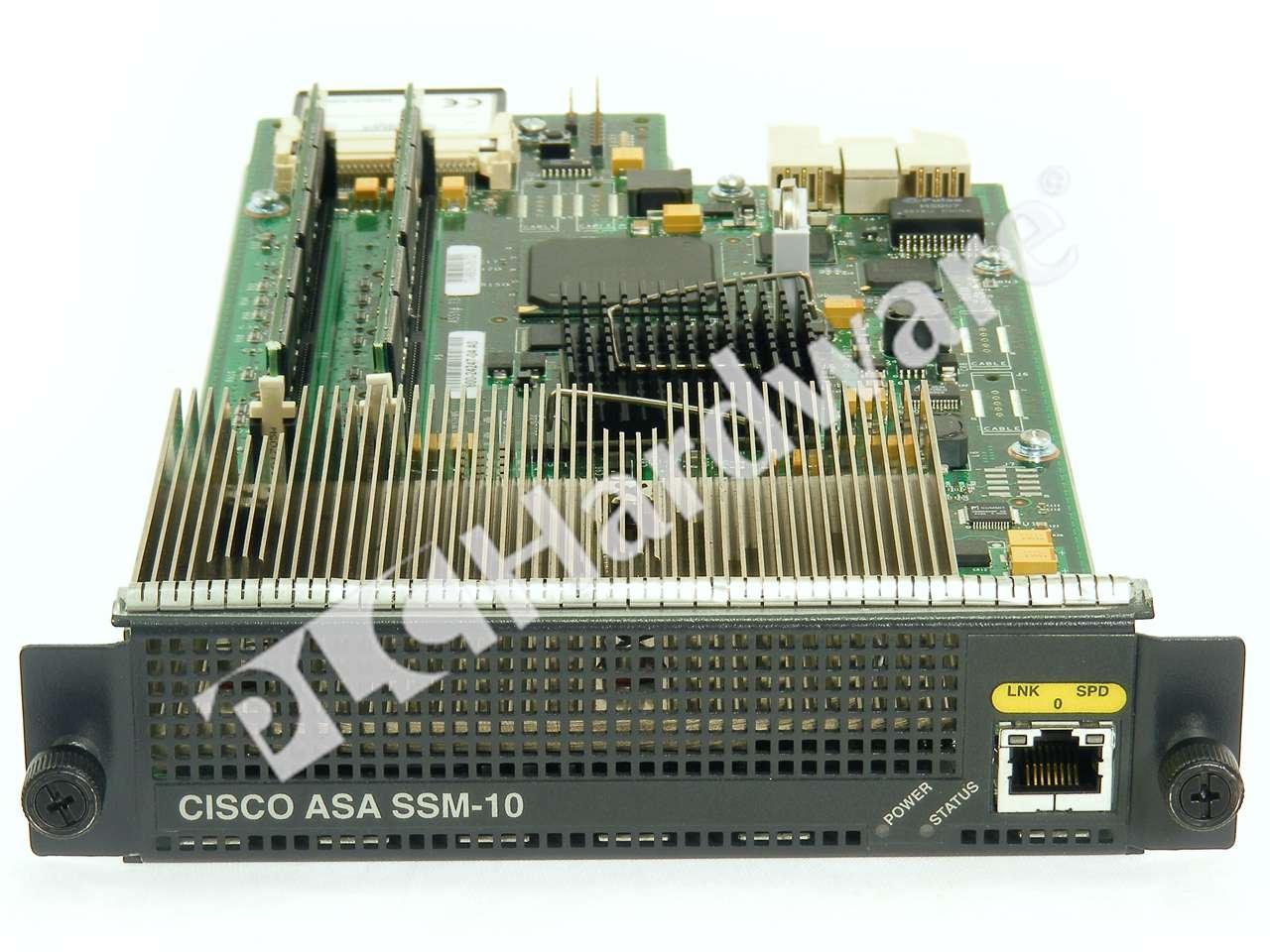 SSM: Cisco ASA-SSM-AIP-10-K9=, Used In A PLCH