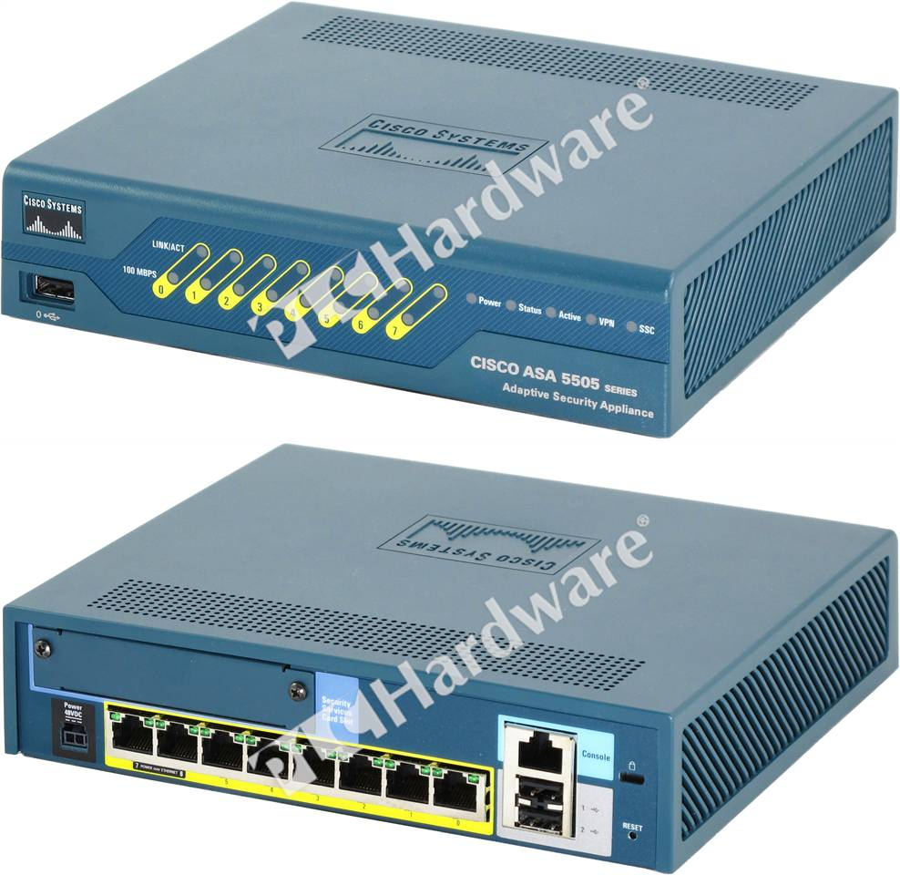 Plc Hardware Cisco Asa5505 Bun K9 Used In A Plch Packaging
