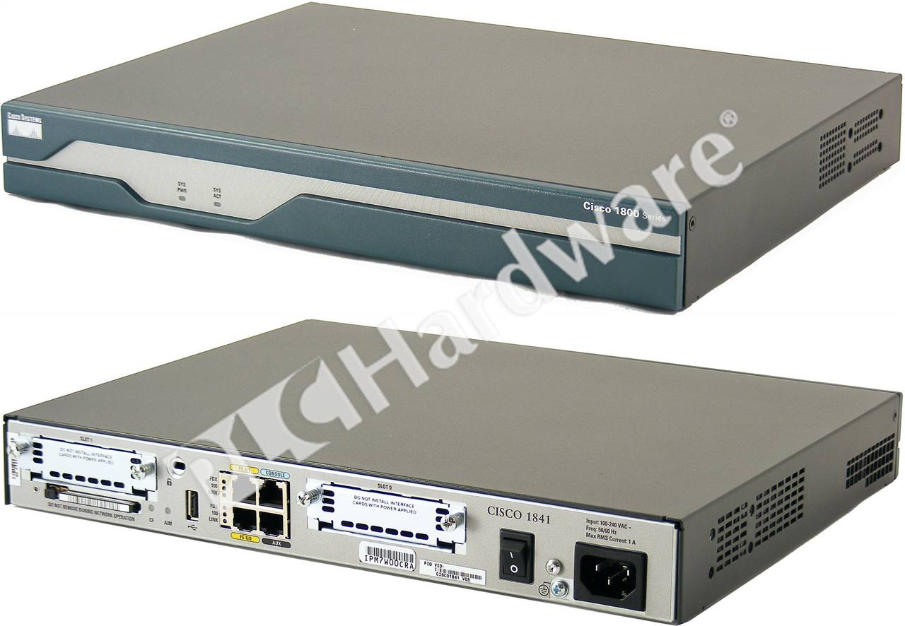 PLC Hardware - Cisco CISCO1841, Used in a PLCH Packaging