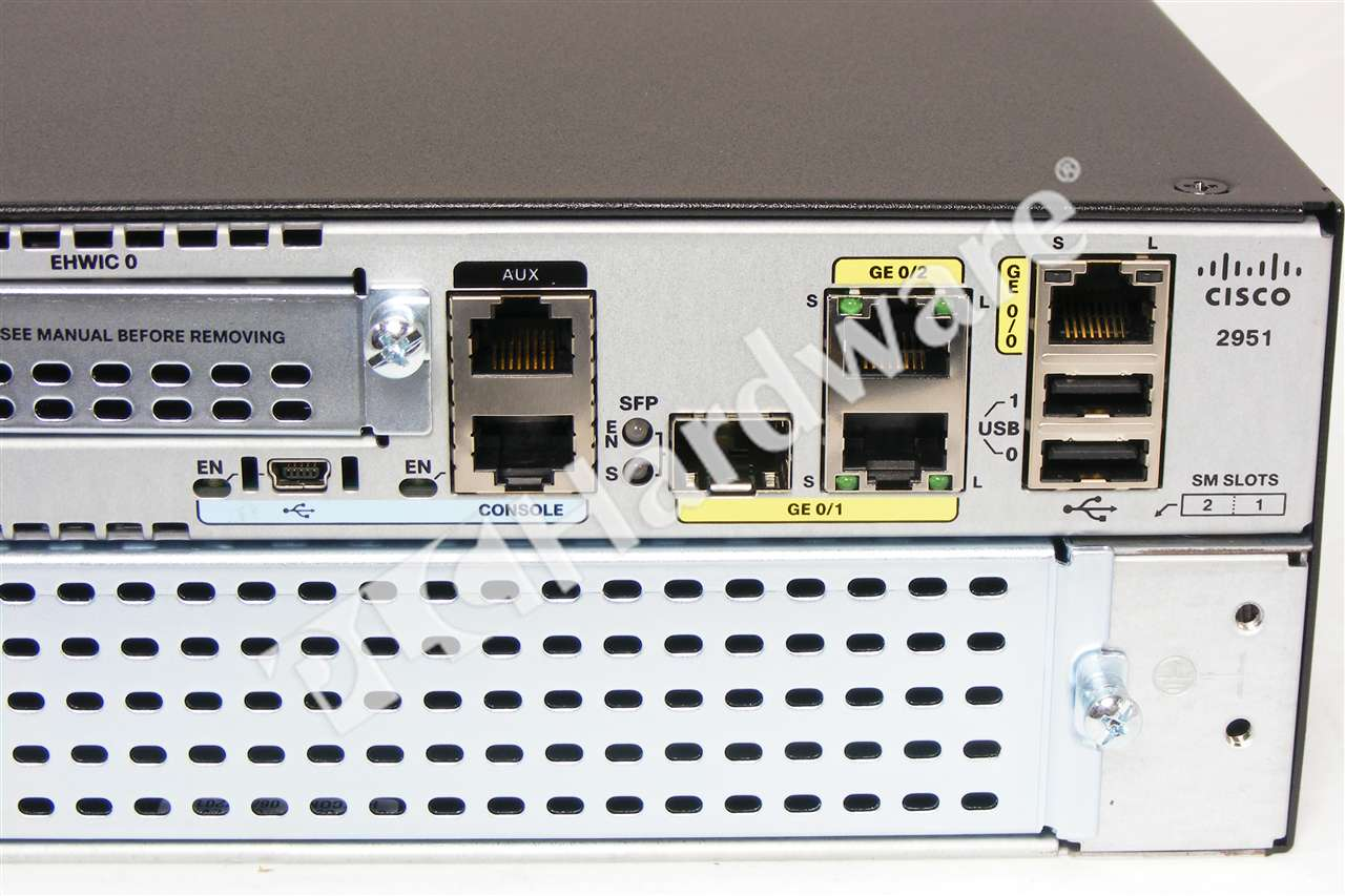 Cisco 2851 slot numbering