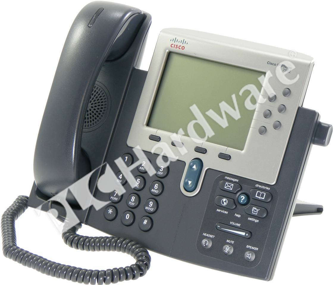 PLC Hardware: Cisco CP-7962G Unified IP Phone 7962 With 5