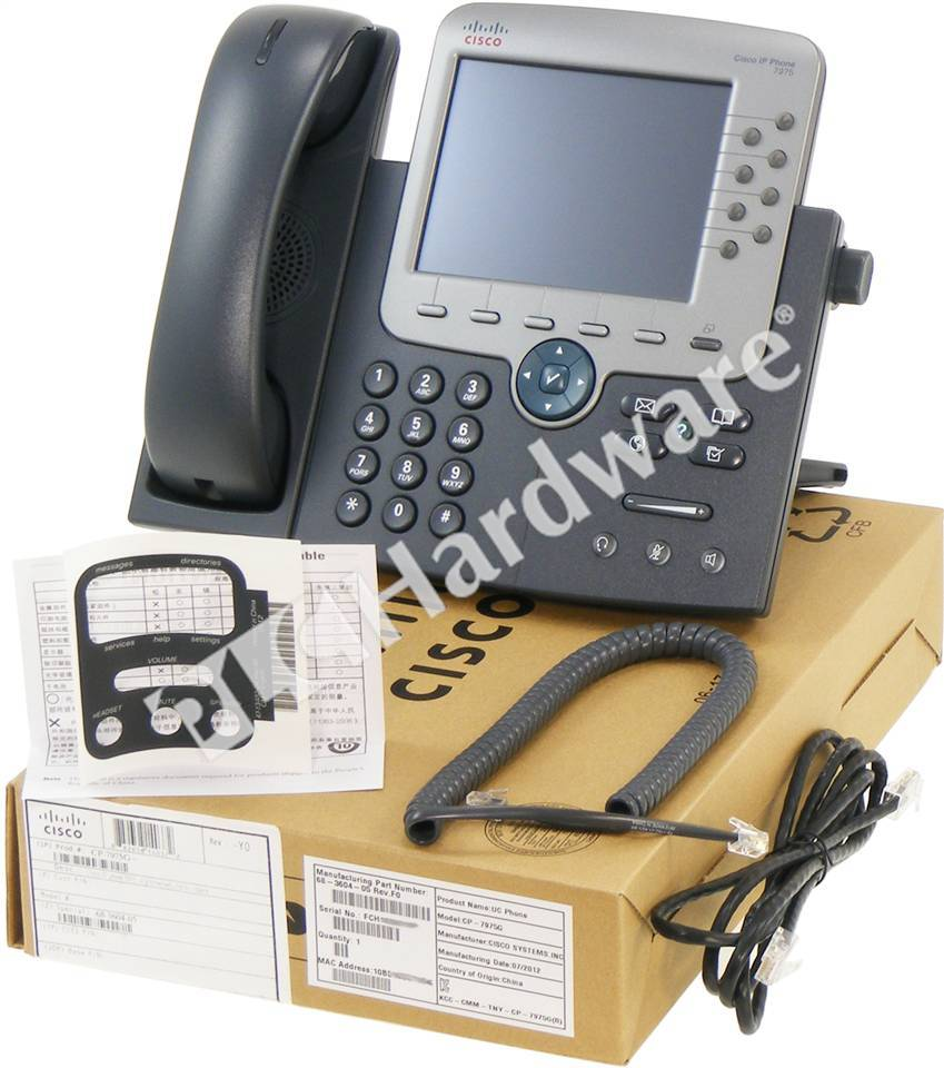 how to change time on cisco ip phone 7975