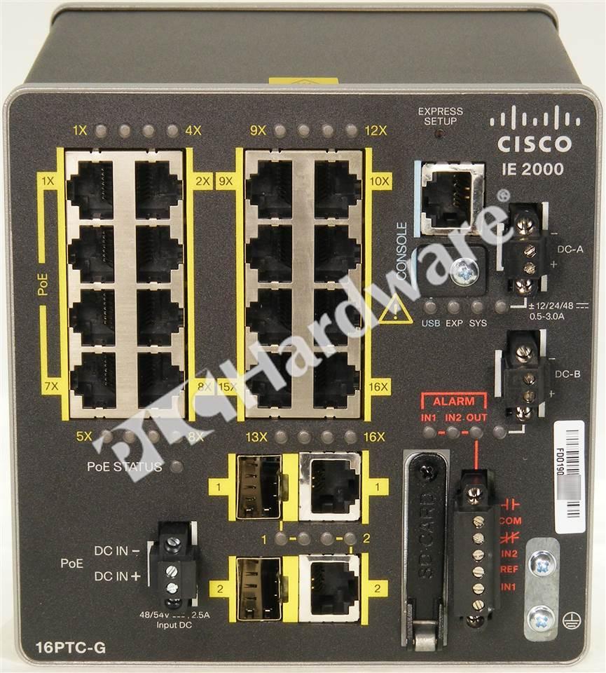 Plc Hardware Cisco Ie 2000 16ptc G E New Factory Open