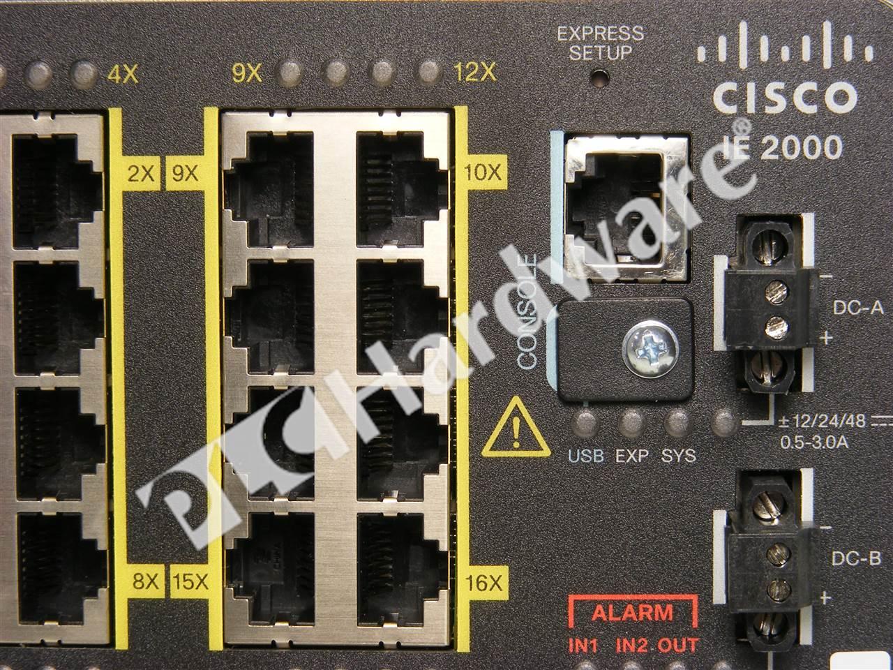 Plc Hardware Cisco Ie 2000 16ptc G E Industrial Ethernet