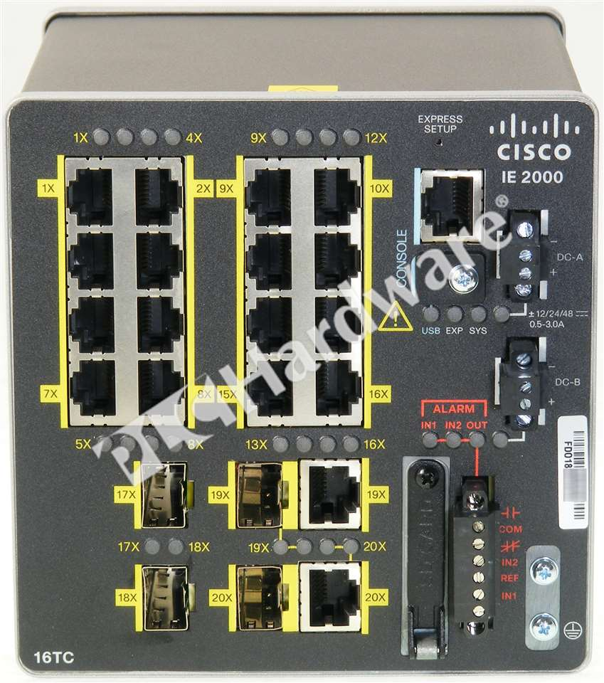 New Cisco Ie 2000 16tc L Industrial Ethernet 2000 Switch