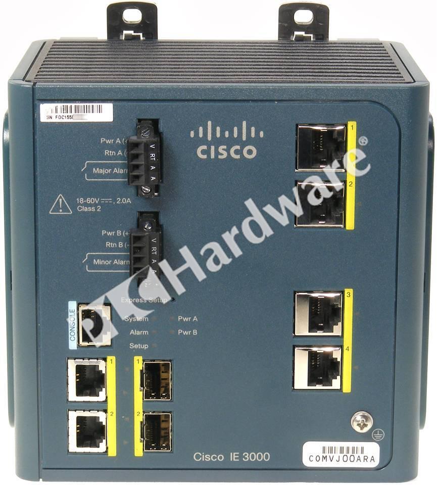 Plc Hardware Cisco Ie 3000 4tc Industrial Ethernet 3000