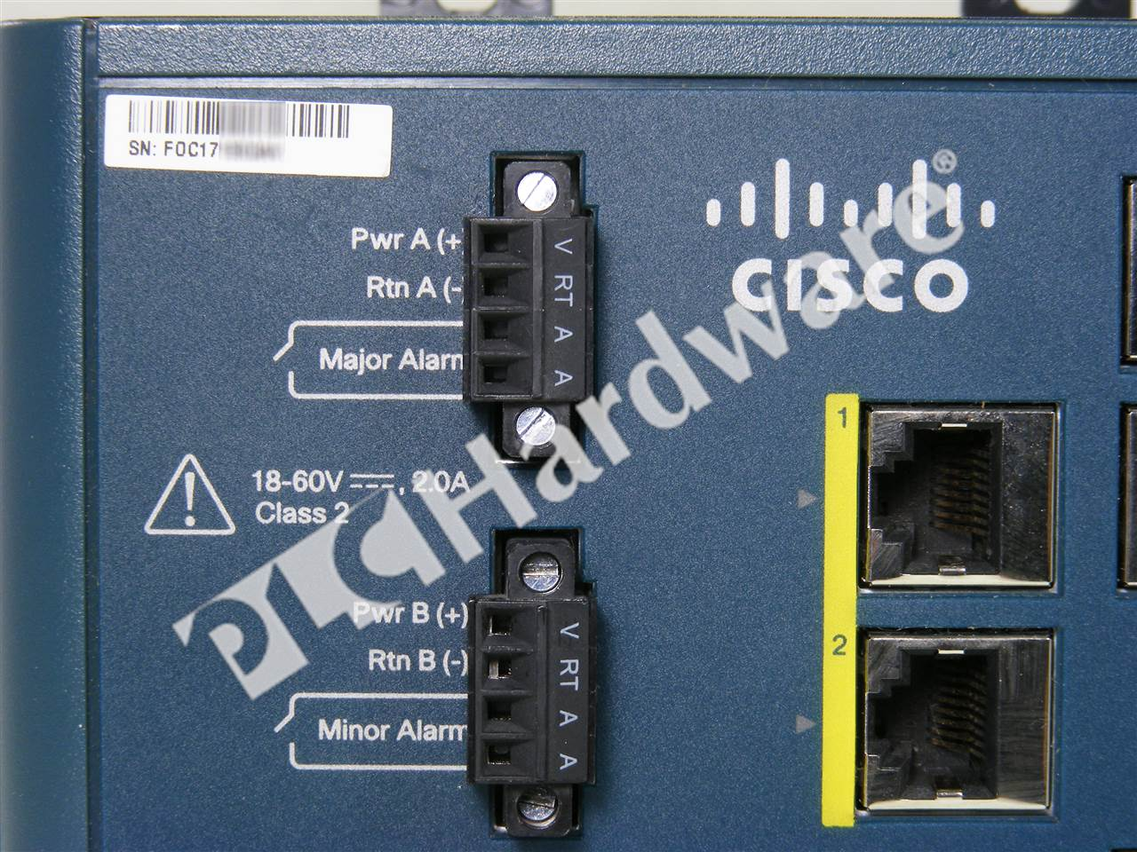 Plc Hardware Cisco Ie 3000 8tc E Used In A Plch Packaging