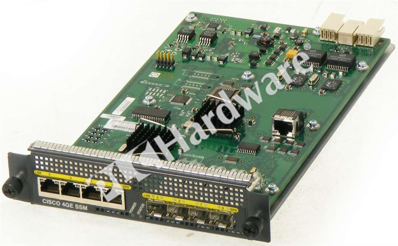 SSM: PLC Hardware: Cisco SSM-4GE ASA 5500 SSM 4-Port Gigabit