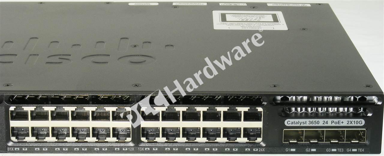 WS-C3650-24PDM-L
