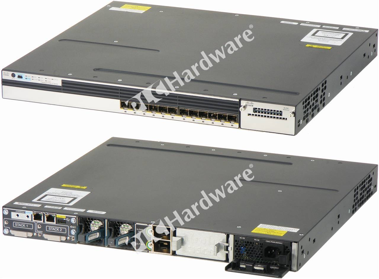 Plc Hardware Cisco Ws C3750x 12s E New Factory Open