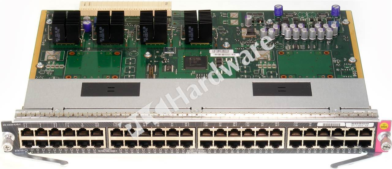 PLC Hardware Cisco WSX4648RJ45E Used in a PLCH Packaging