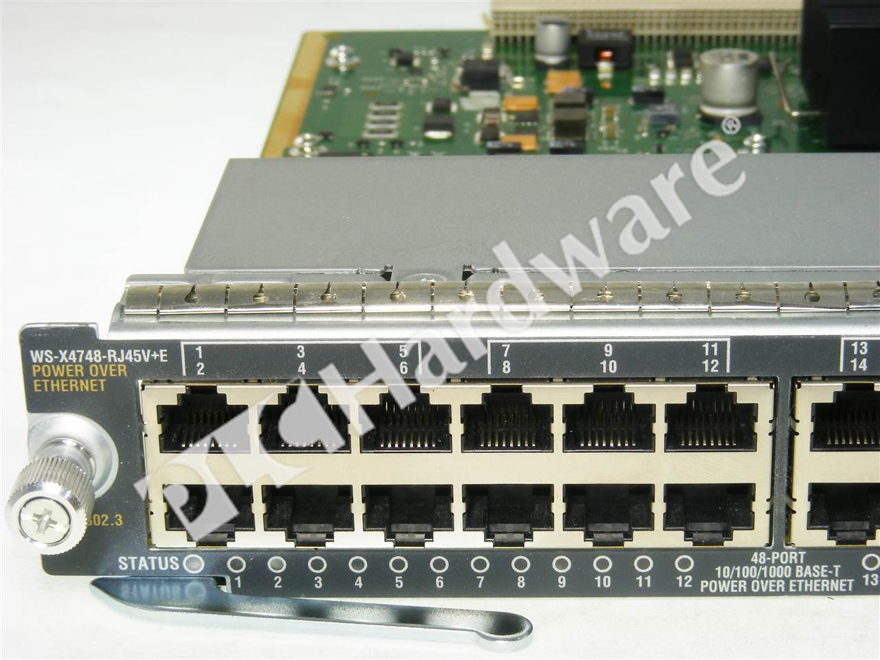 PLC Hardware Cisco WSX4748RJ45VE Used in a PLCH Packaging