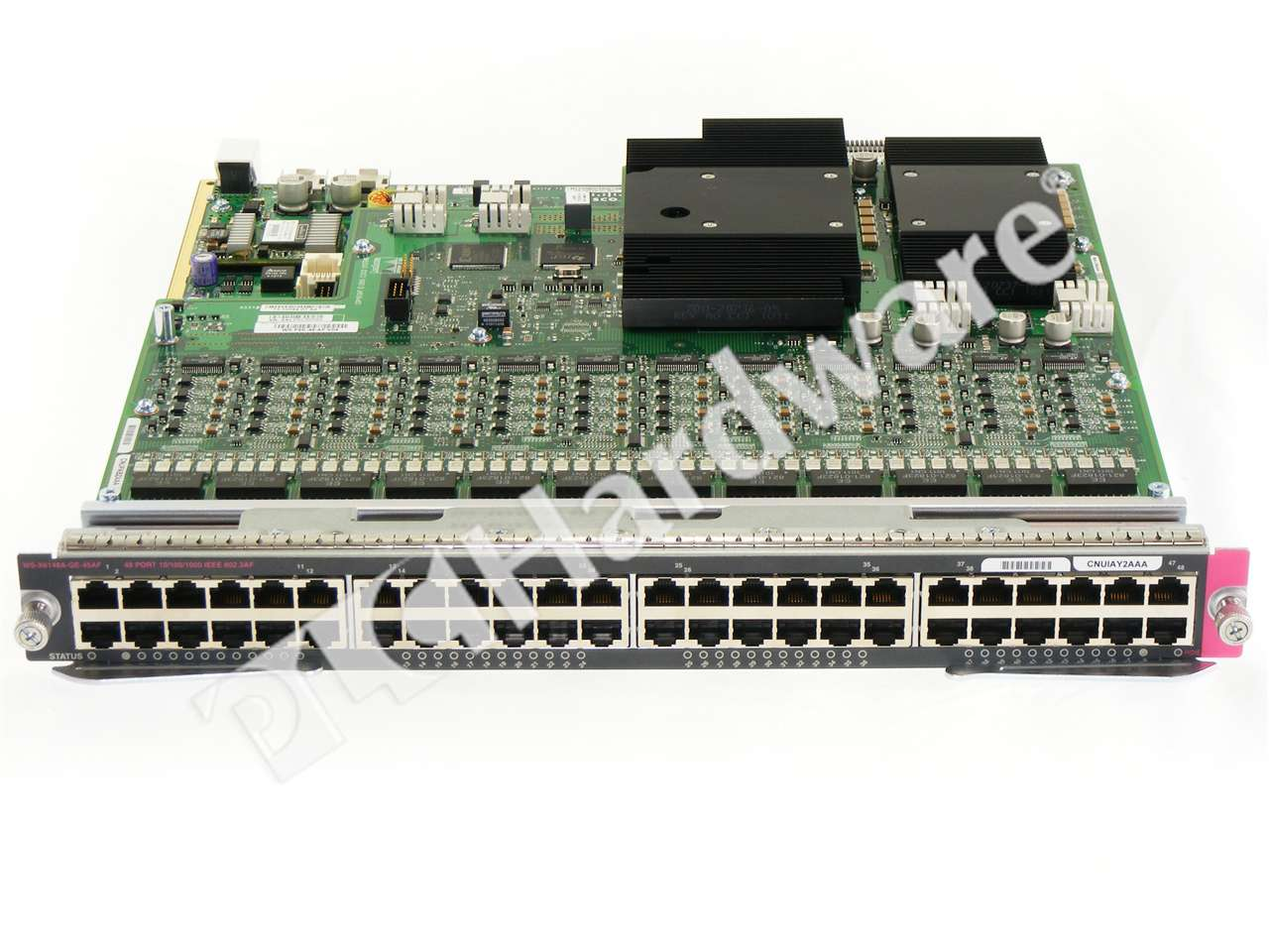 Cisco WS-F6K-48-AF-RF Power injector WS-X6148A-RJ-45 WS-X6148A-RJ-45-RF WS-X6148A-GE-TX-RF for P//N: WS-X6148A-GE-TX refurbished