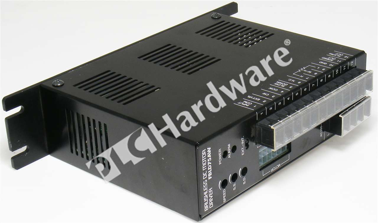 Oriental motor fbld75aw brushless dc speed controller 1 ph for Brushless dc motor speed control