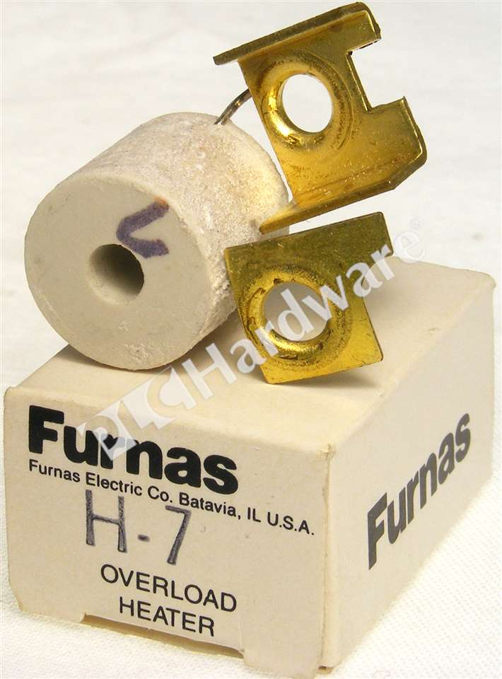 New Furnas H7 Thermal Overload Heater Element  0.67-0.73A Qty