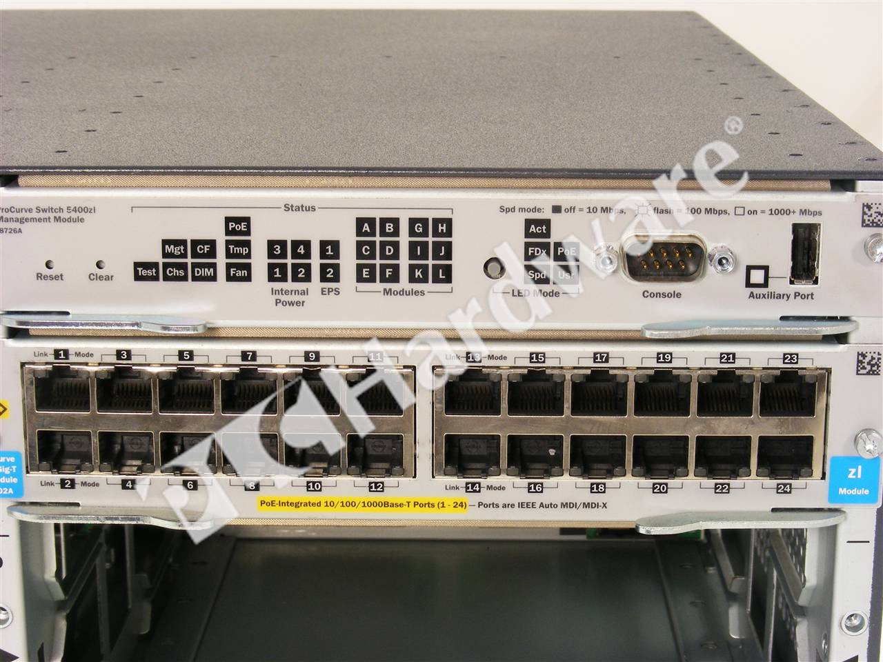 Plc Hardware Hp Procurve J8699a 5400zl Switch Bundle