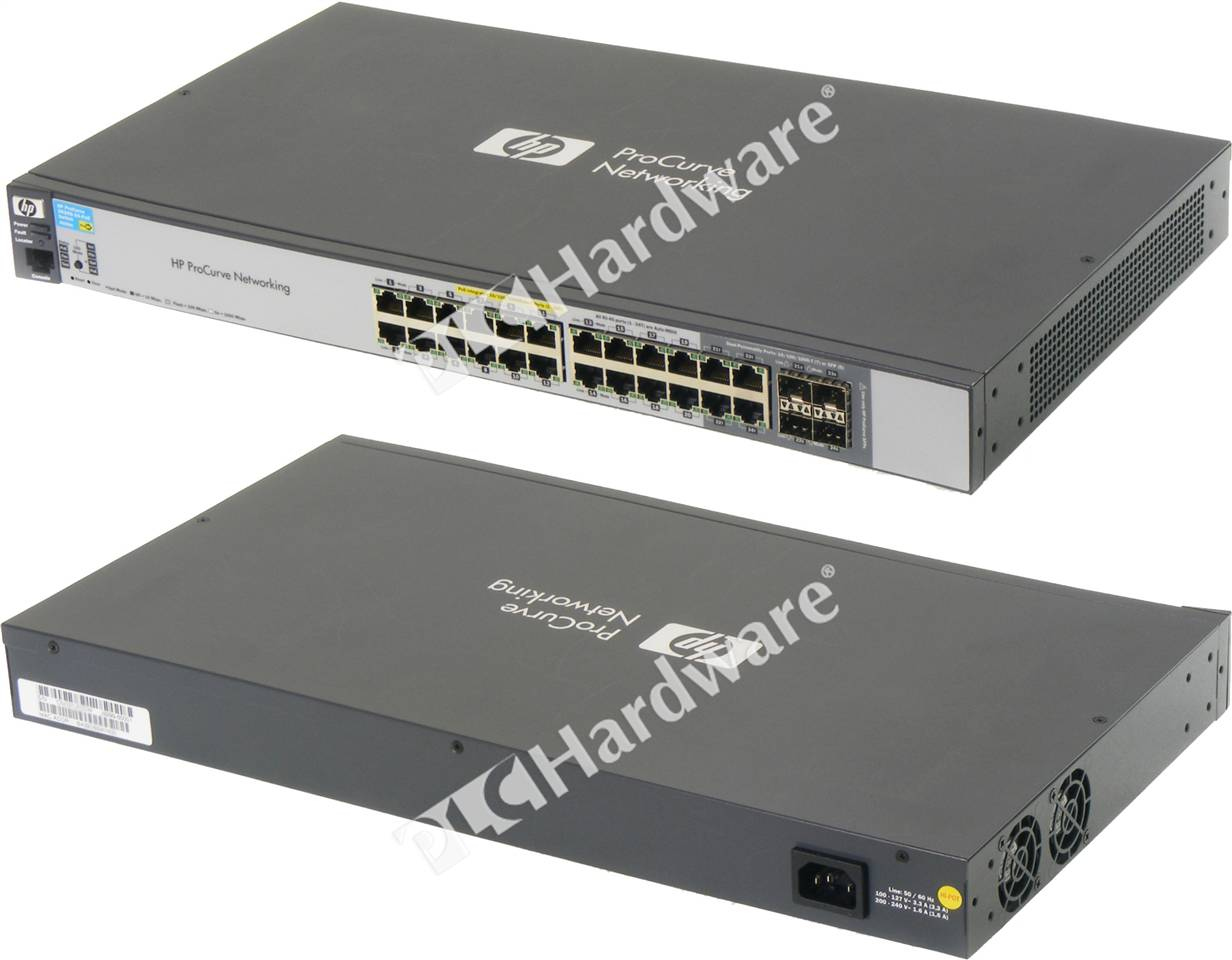 hp 2520 switch manual