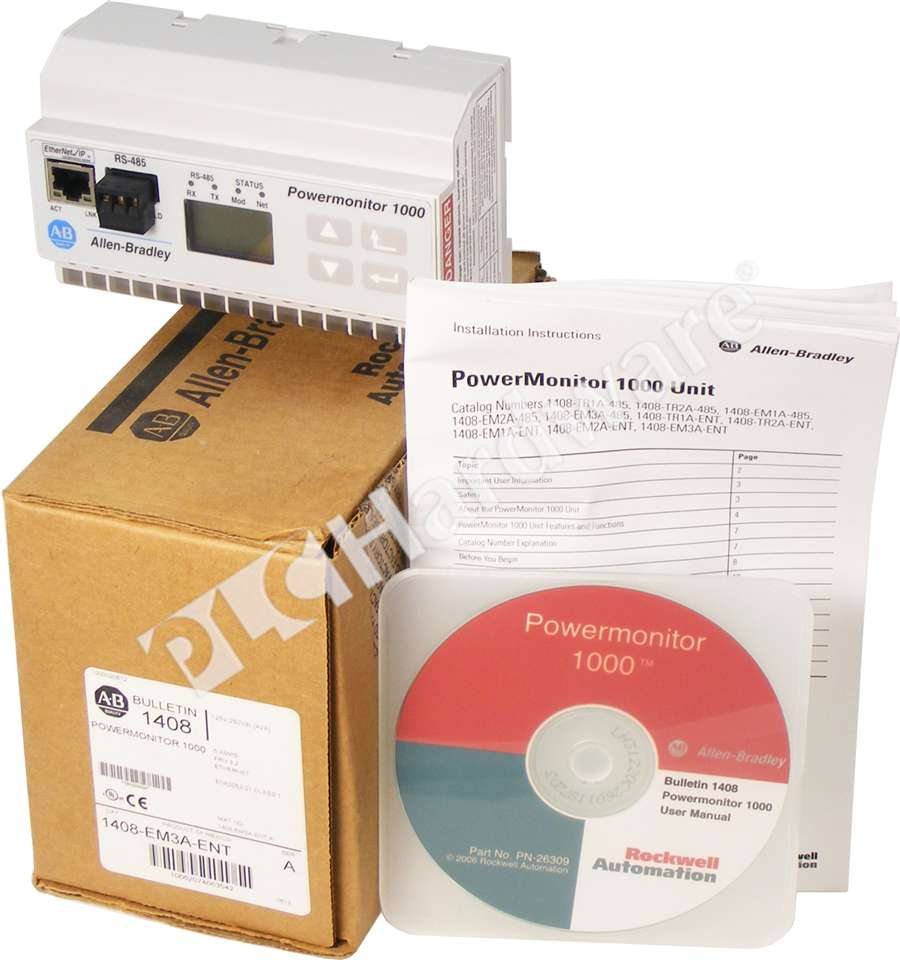 Allen Bradley Power Monitor 1000 : Plc hardware allen bradley em a ent powermonitor