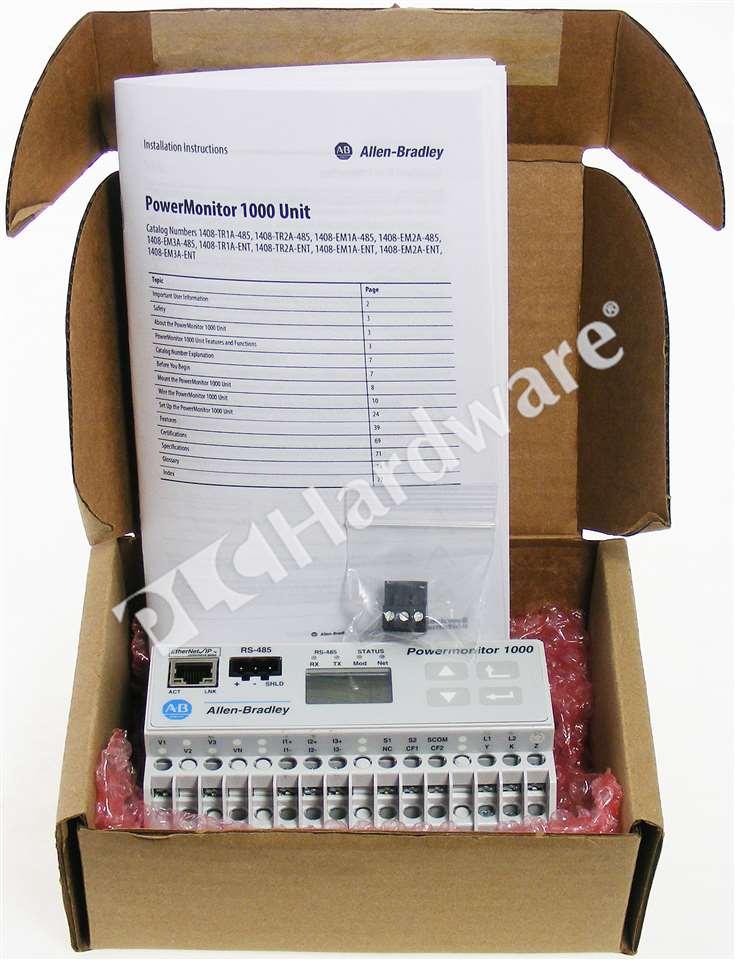 Allen Bradley Power Monitor 1000 : New allen bradley em a ent powermonitor