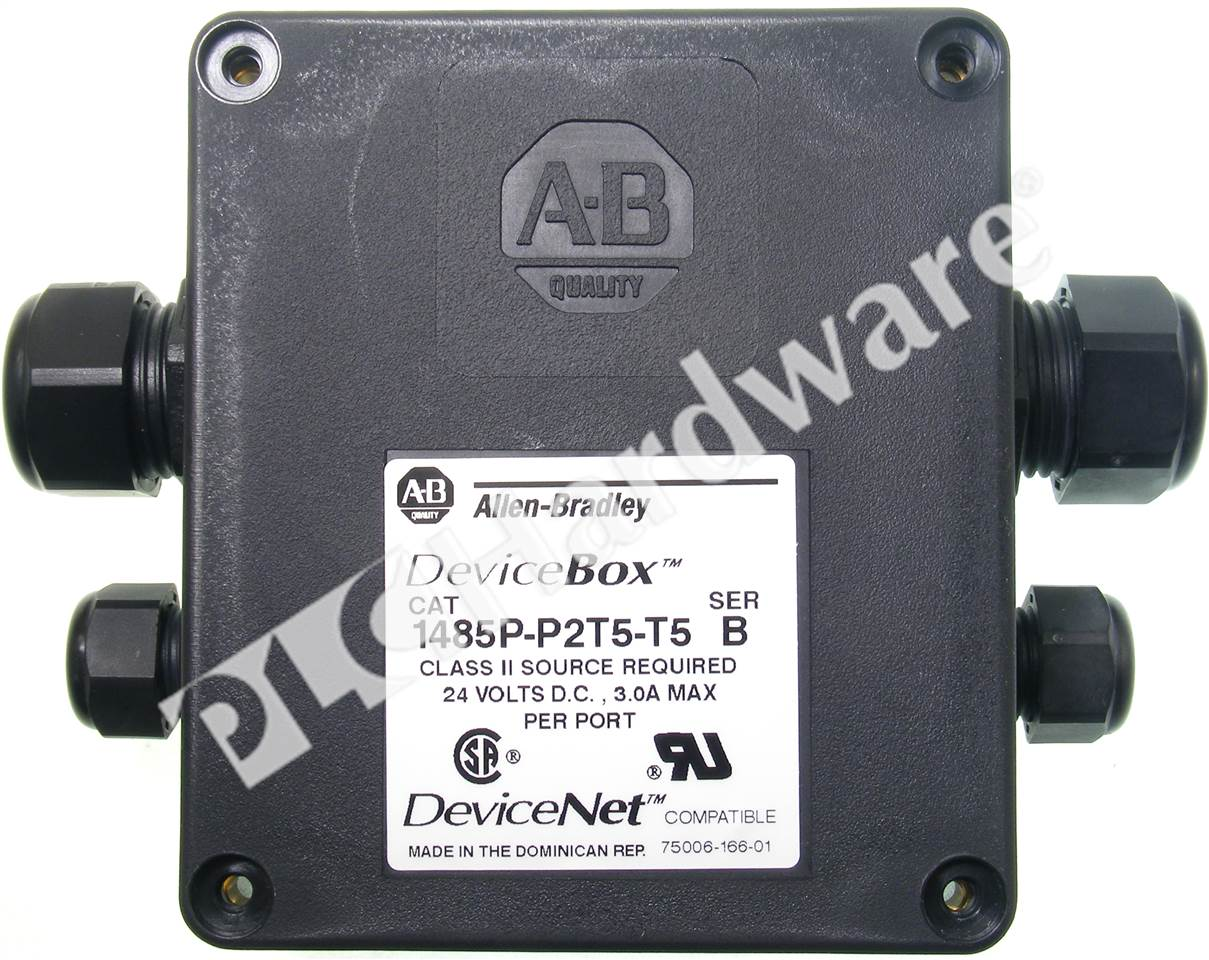 Plc Hardware Allen Bradley 1485p P2t5 T5 Devicenet