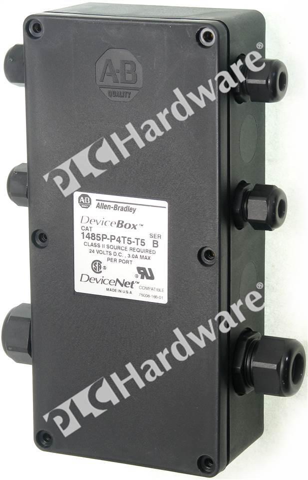 Plc Hardware Allen Bradley 1485p P4t5 T5