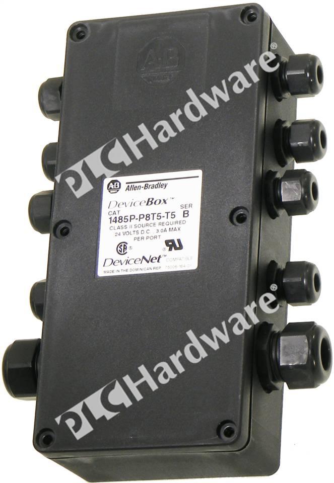 Plc Hardware Allen Bradley 1485p P8t5 T5 Devicenet