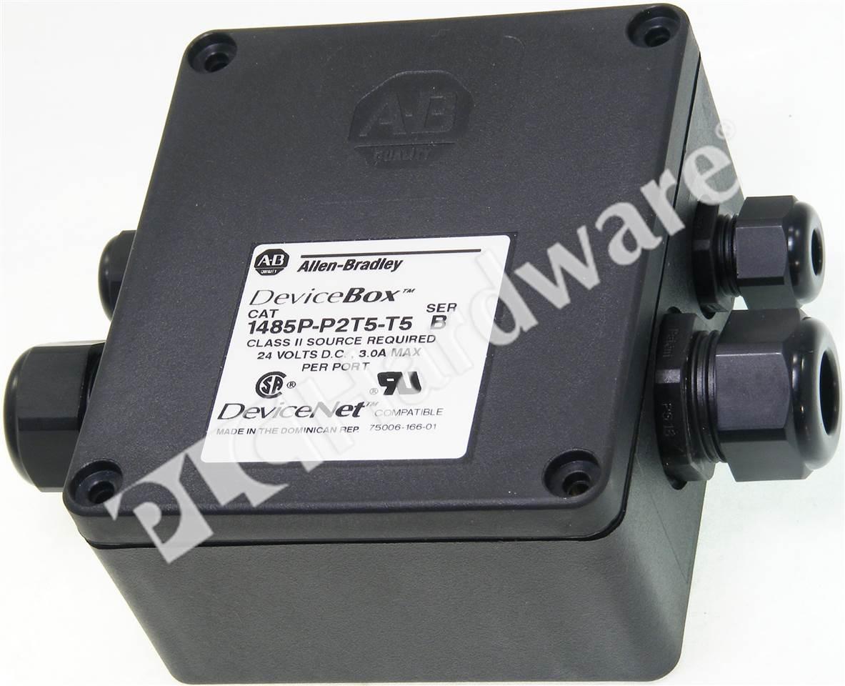 Plc Hardware Allen Bradley 1485t P2t5 T5 Devicenet