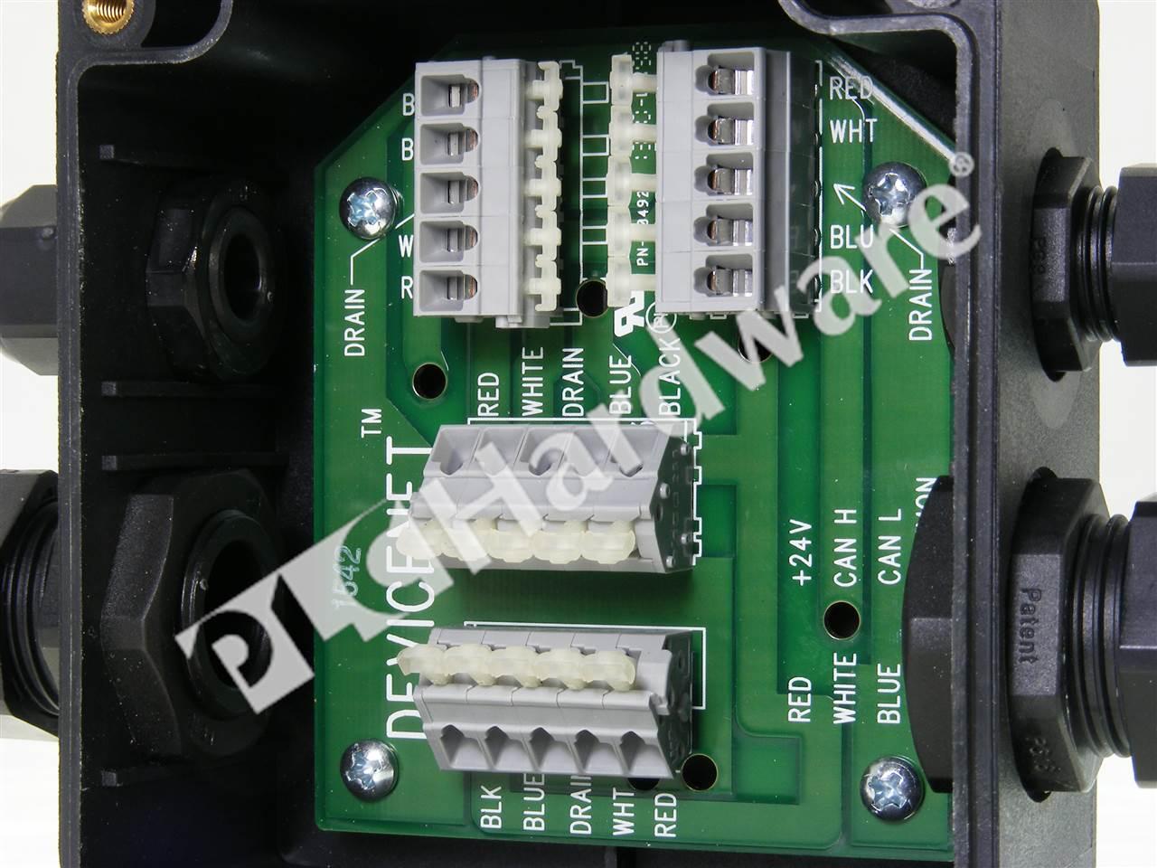 Plc Hardware Allen Bradley 1485t P2t5 T5 Series B Used