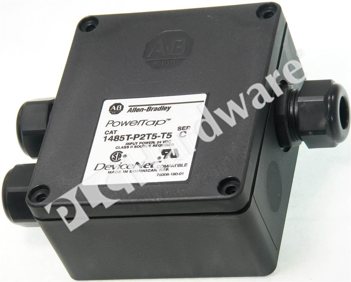 Plc Hardware Allen Bradley 1485t P2t5 T5 Series C New