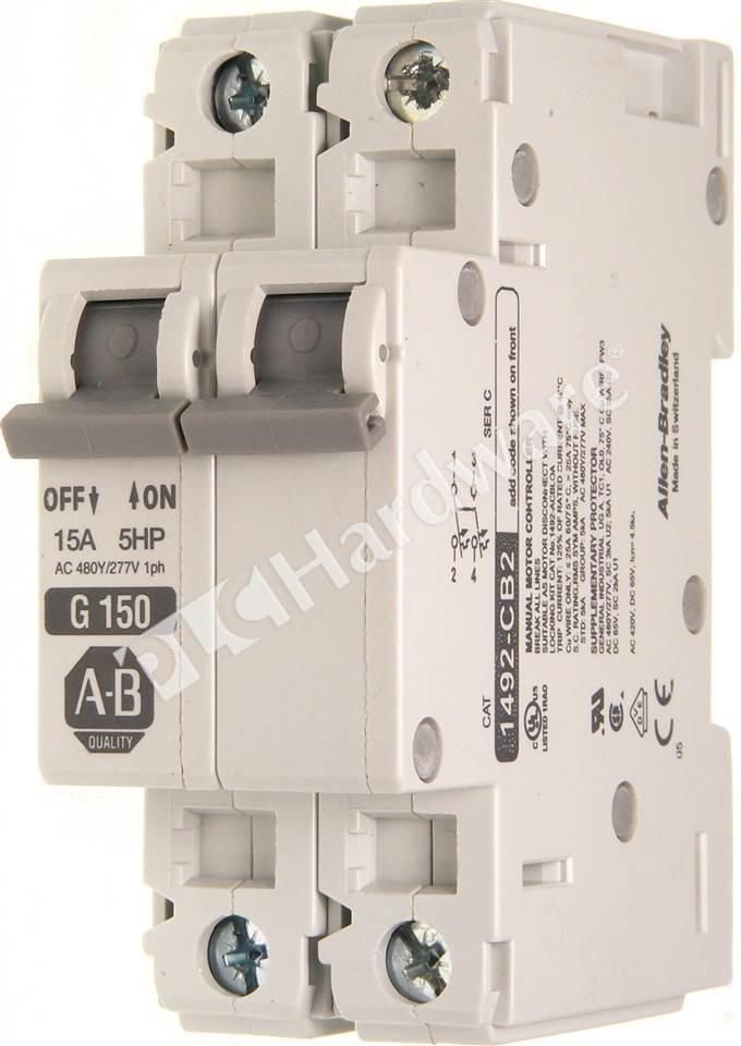 1492-CB2G150 Ab Circuit Breaker Wiring Schematic on