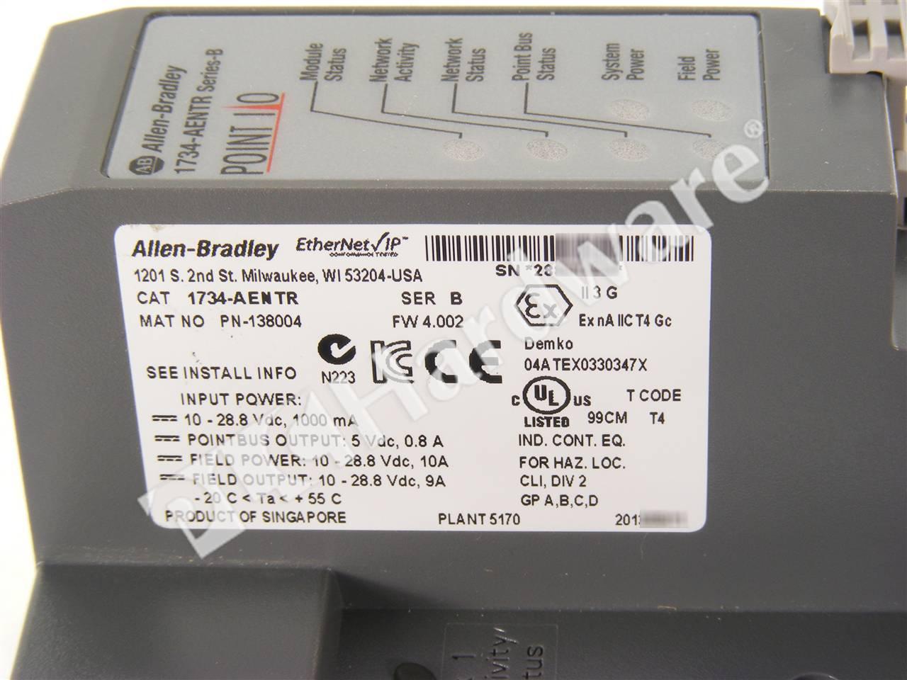 Allen Bradley 1734 Ir2 Manual Ow4 Wiring Diagram