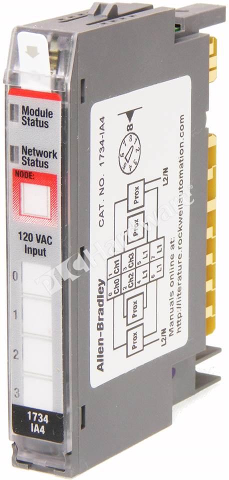 Plc Hardware  Allen O 120v Ac 4