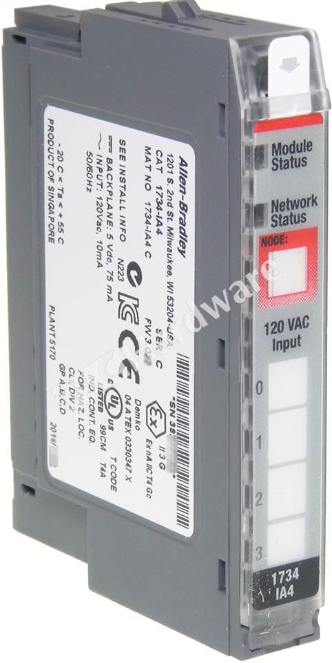 PLC Hardware Allen Bradley 1734 IA4 Series C New