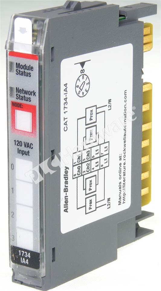 PLC    Hardware  Allen Bradley 1734IA4 Series C  New