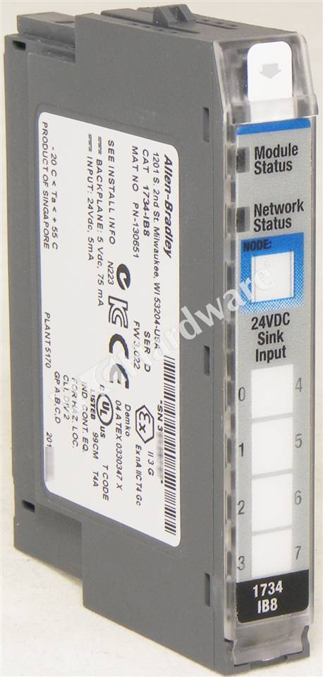 RA 1734 IB8 D UPP 1_b plc hardware allen bradley 1734 ib8 series d, used in a plch 1734 ib8 wiring diagram at readyjetset.co