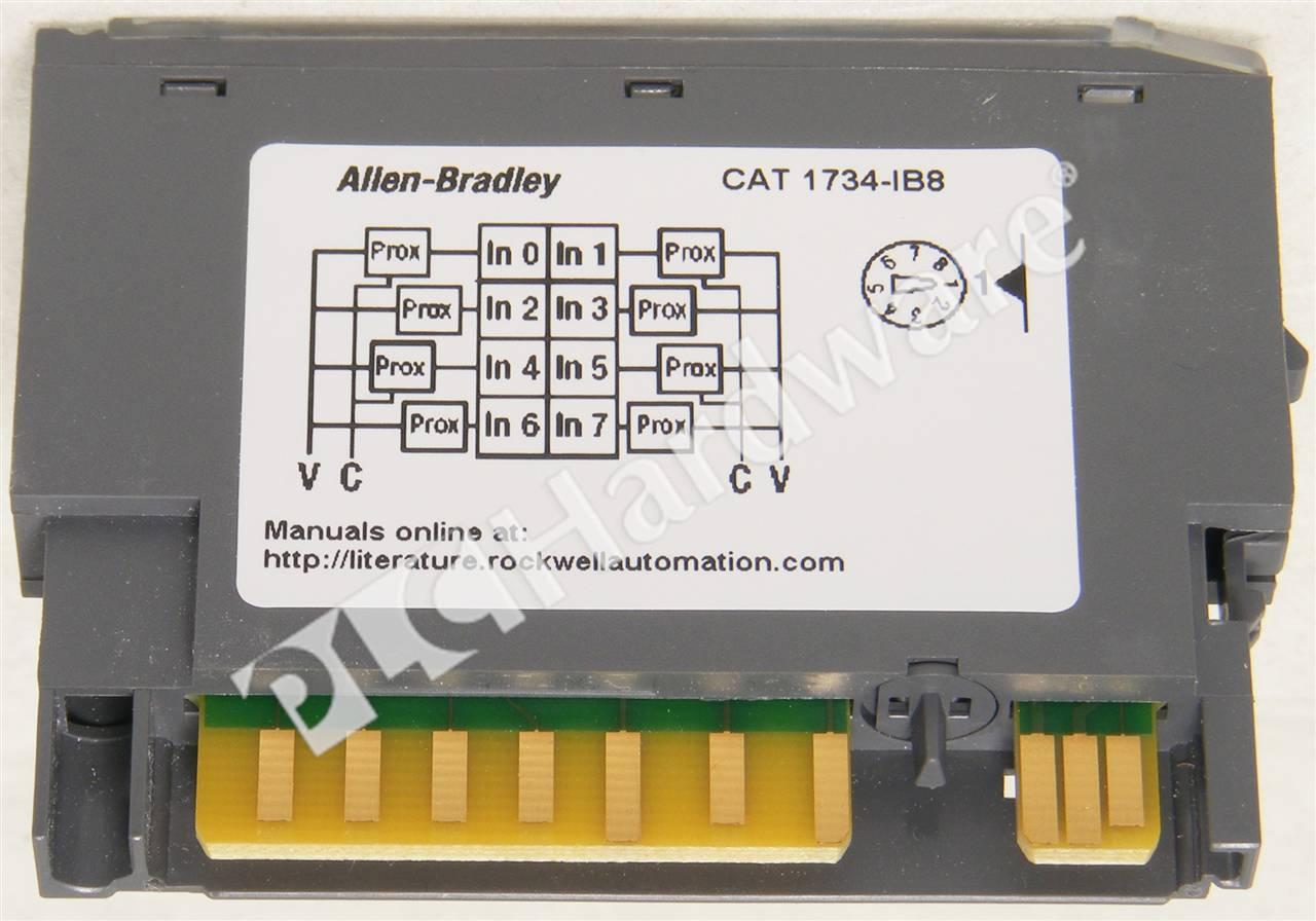 RA 1734 IB8 D UPP 3_b plc hardware allen bradley 1734 ib8 series d, used in a plch 1734 ib8 wiring diagram at readyjetset.co
