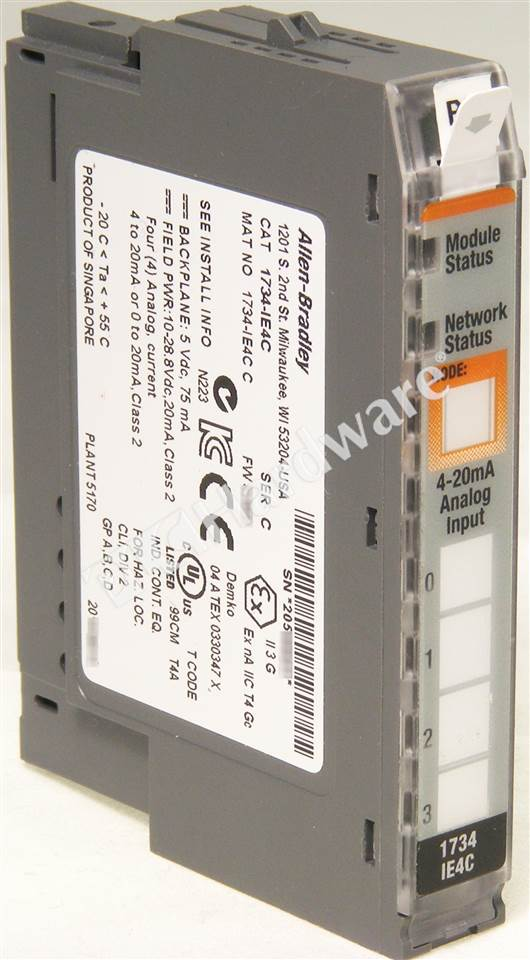 RA 1734 IE4C C UPP 1_b plc hardware allen bradley 1734 ie4c series c, used in a plch 1734 ow4 wiring diagram at gsmx.co