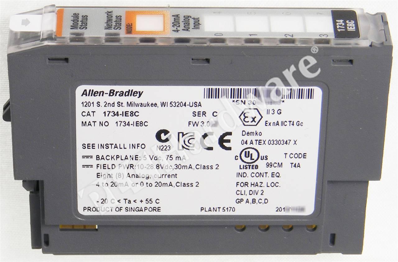 Plc Hardware  Allen O 8ch Analog