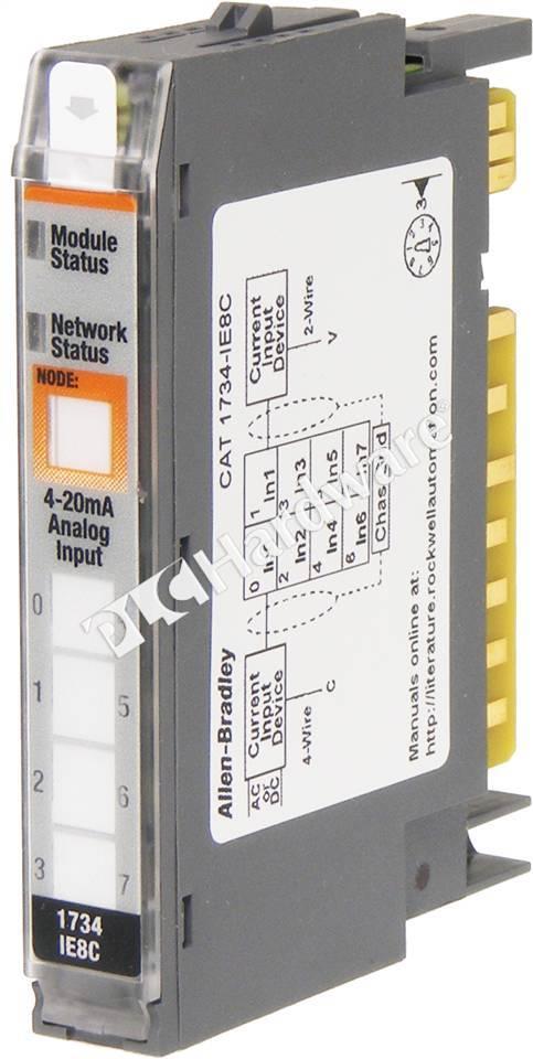 RA-1734-IE8C_b I O Module Wiring Diagram on