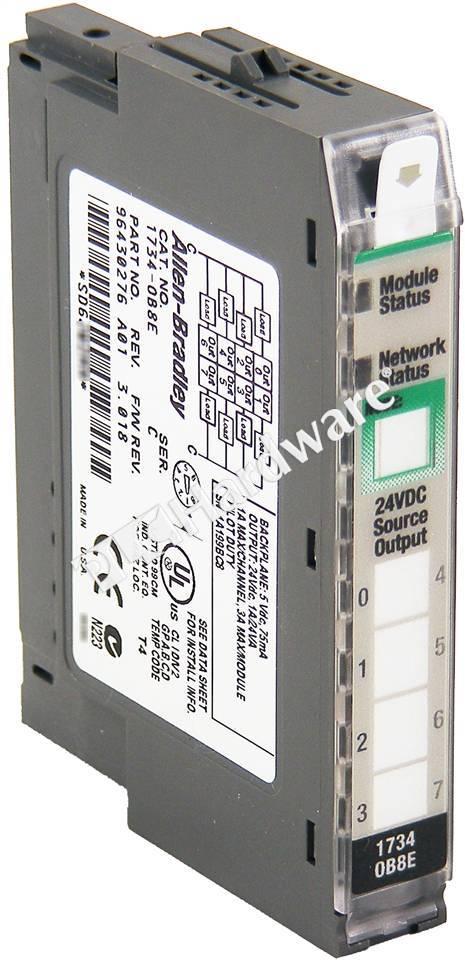 Plc Hardware  Allen O 24v Dc 8