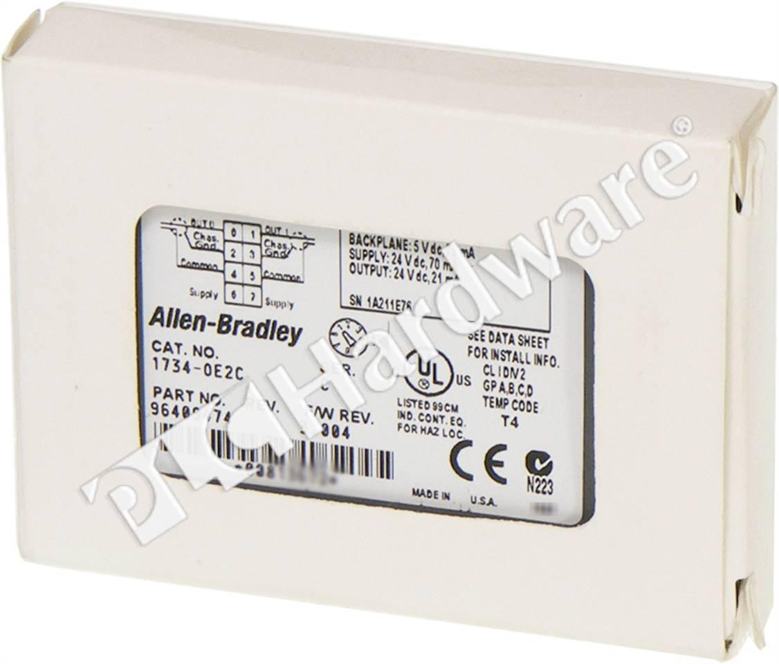 1734 Oe2c Wiring Diagram Circuit Schematic Ow4 Plc Hardware Allen Bradley Series C New Surplus Open Lighted Doorbell Button