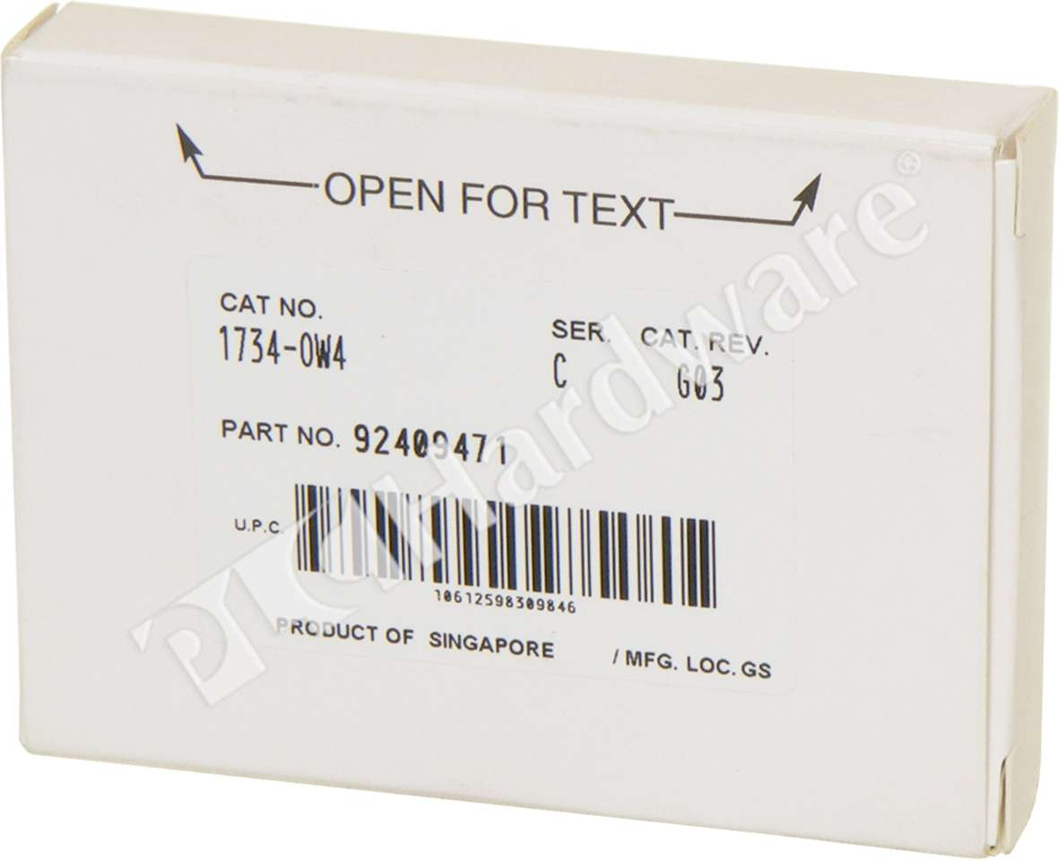 plc hardware allen bradley 1734 ow4 point digital contact output rh plchardware com