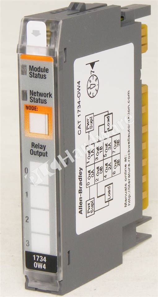 plc hardware allen bradley 1734 ow4 series c used in a plch packaging rh plchardware com