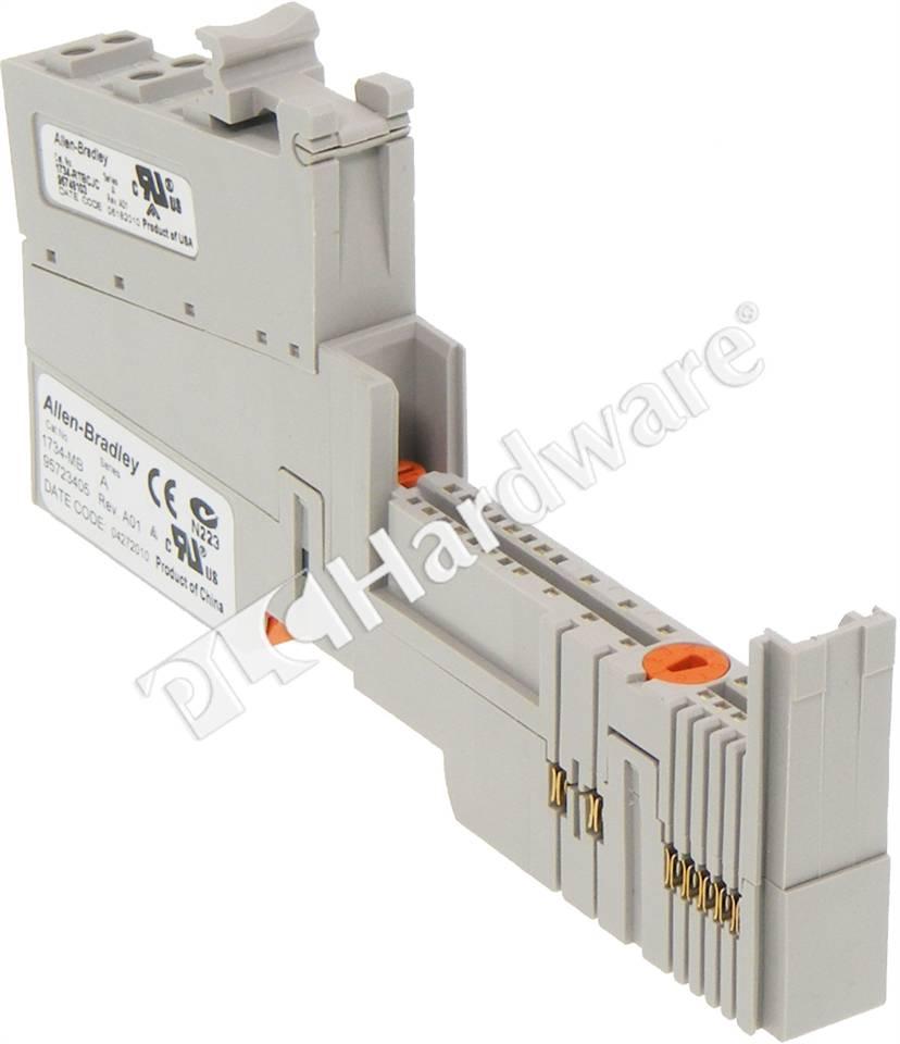 PLC Hardware: Allen-Bradley 1734-TBCJC POINT I/O Module Base with CJC