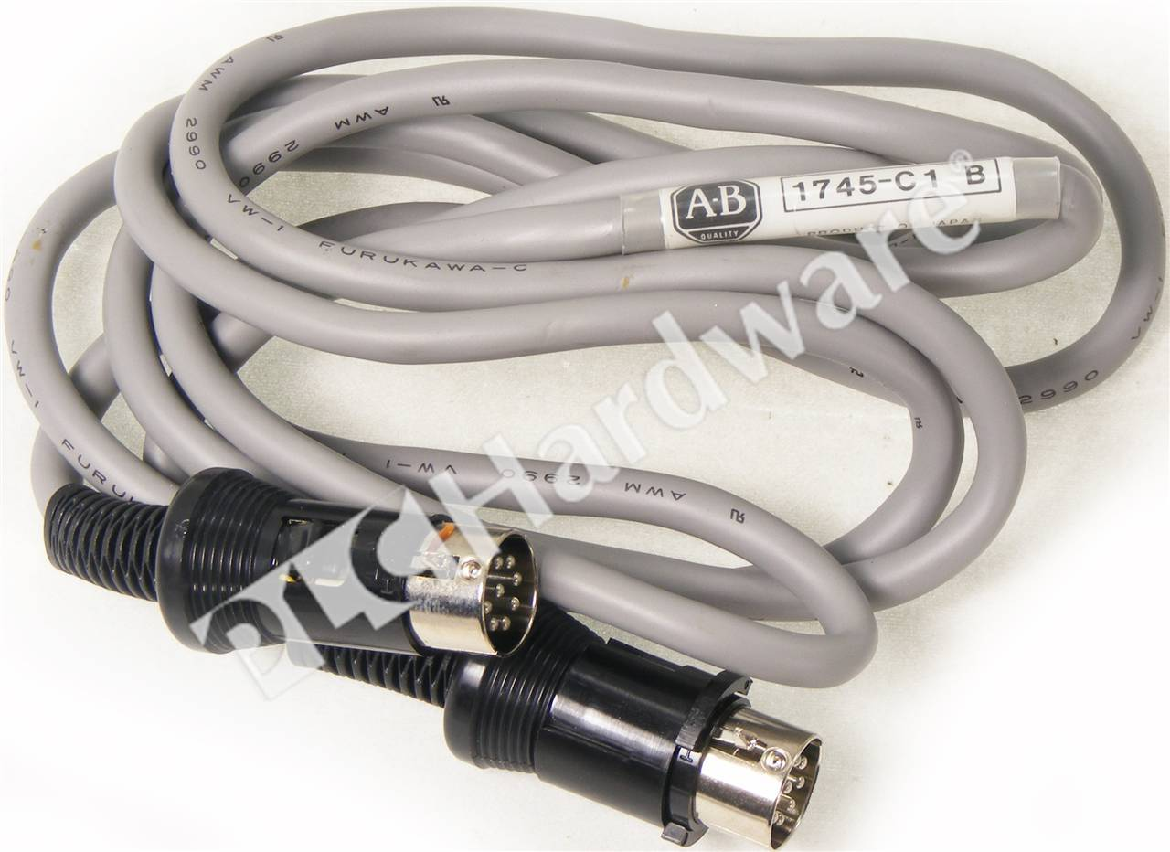 PLC Hardware: Allen-Bradley 1745-C1 Replacement Cable for SLC 100 ...