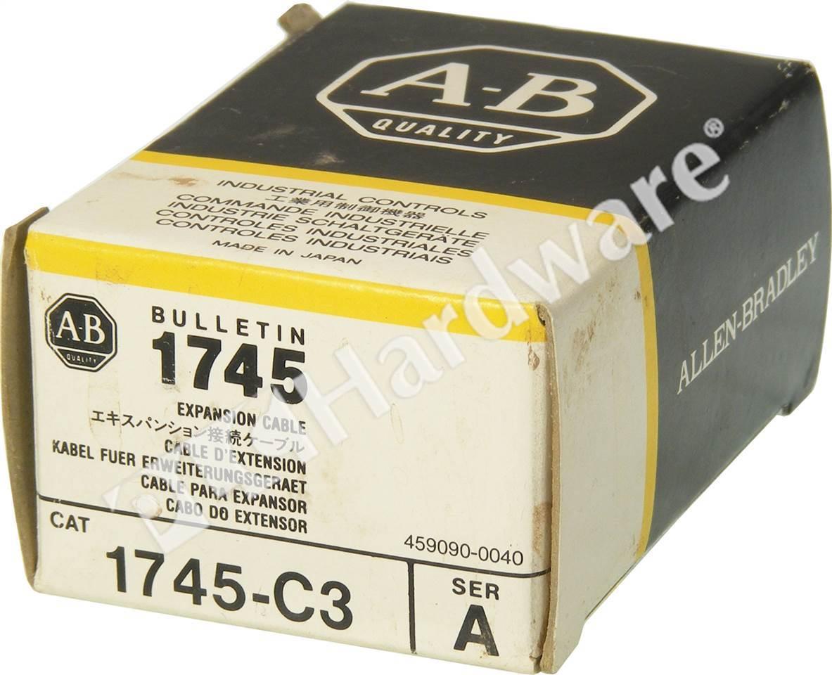 PLC Hardware - Allen Bradley 1745-C3 Series A, New Surplus Sealed