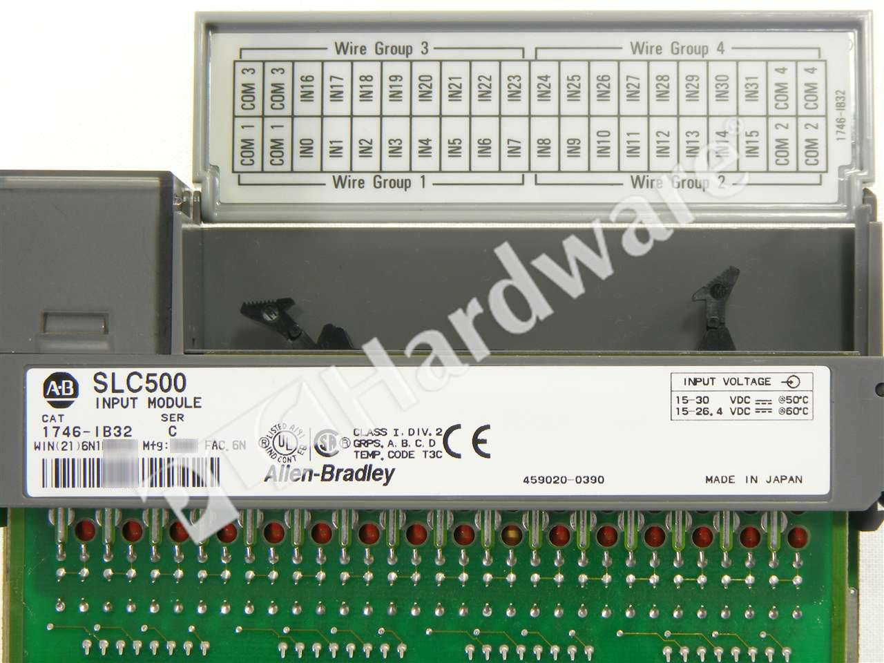 RA 1746 IB32 C UPP 2_b plc hardware allen bradley 1746 ib32 slc 500 32 ch dc digital 1746 ob16 wiring diagram at bayanpartner.co