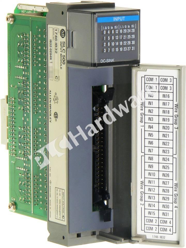 120 wiring diagram plc hardware allen bradley 1746 ib32 series c used in a 120 wiring diagram