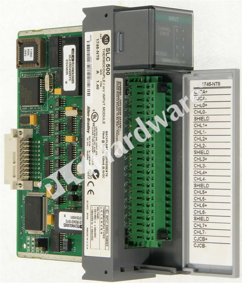 Thermocouple Input Card : Allen bradley nt a slc thermocouple mv analog