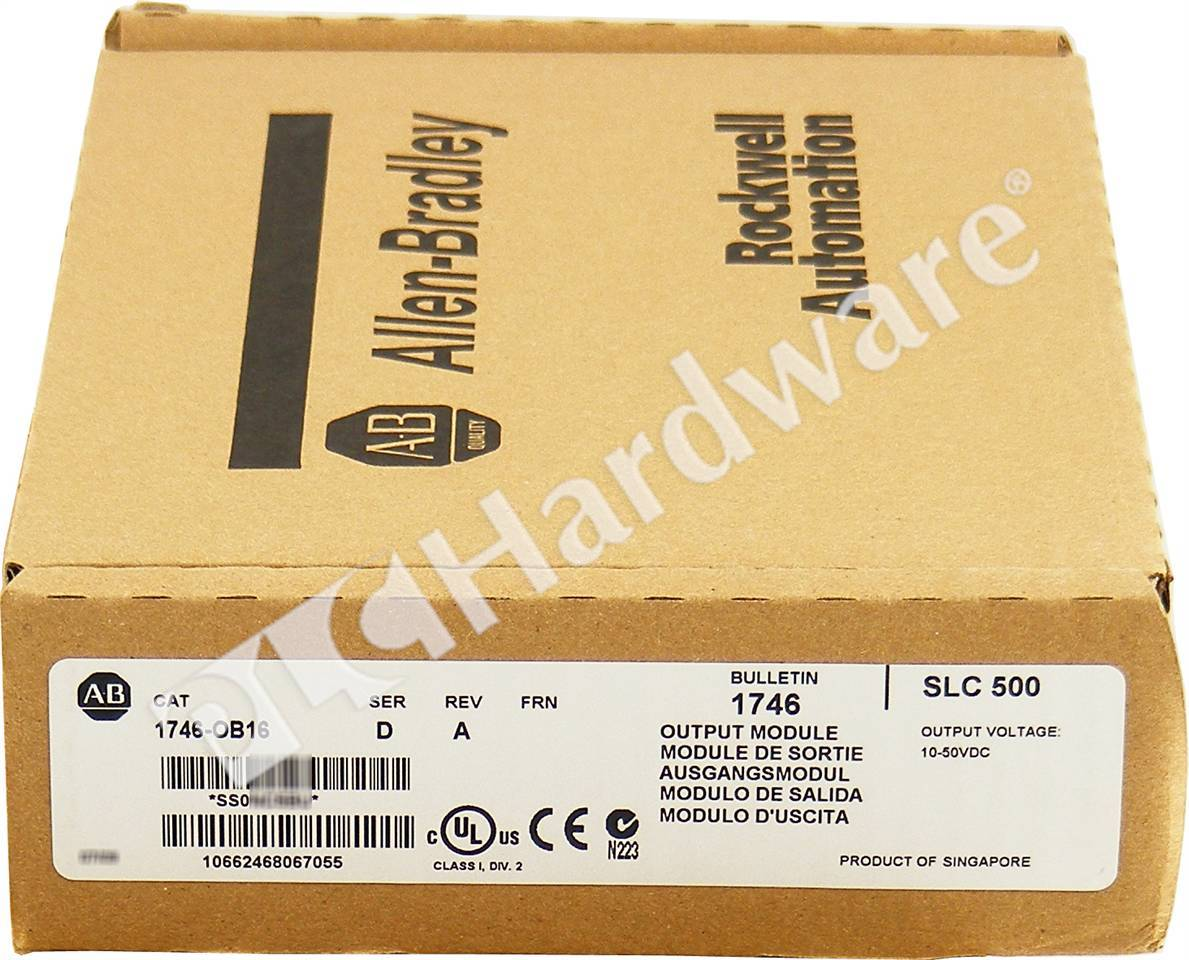 RA 1746 OB16 D NSS_b plc hardware allen bradley 1746 ob16 series d, new surplus sealed 1746 ob16 wiring diagram at soozxer.org